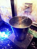 Fontana di Mini Water Immagine Stock