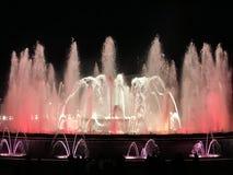 Fontana di Montjuic Majic Fotografie Stock