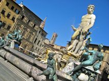 Fontana di Nettuno Fotografía de archivo