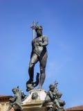 Fontana di Nettuno a Bologna L'Italia Immagini Stock Libere da Diritti