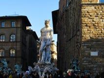 Fontana di Nettuno, Firenze Fotografia de Stock