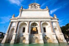"""Fontana di Paola di acqua del dell di Fontana - di Roma """"di acqua Paola immagini stock"""