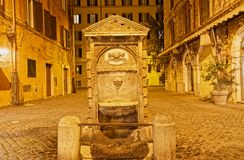 Fontana di Piazza del Catalone royalty free stock photography