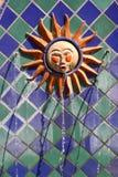 Fontana di Santa Barbara Sun Fotografie Stock Libere da Diritti