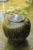 Fontana di terra del barattolo Fotografia Stock Libera da Diritti