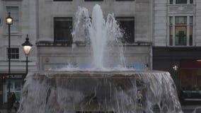Fontana di Trafalgar archivi video