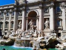 Fontana di Trevi à Rome images libres de droits
