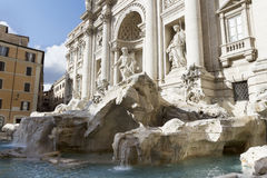 Fontana Di TREVI, Ρώμη, Ιταλία Στοκ Φωτογραφία