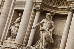 Fontana di Trevi fotos de stock royalty free