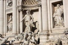 Fontana di Trevi Immagini Stock Libere da Diritti
