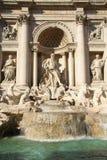 Trevi Fountain, Rome, Italy. Trevi Fountain statues in Rome, Italy Stock Photography