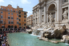 Fontana di trevi Royalty Free Stock Photography