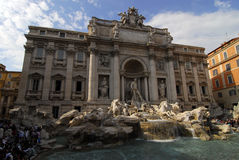 Fontana di Trevi Stock Photography