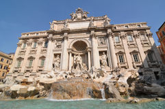 Fontana di Trevi Royalty Free Stock Photo