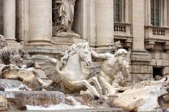 Fontana di Trevi Photographie stock