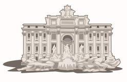 Fontana Di TREVI Στοκ Εικόνες