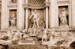 Fontana di Trevi Fotografie Stock