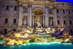 Fontana di Trevi Arkivbild