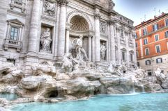 Fontana di Trevi Imagem de Stock Royalty Free