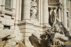 Fontana di Trevi Fotografia Stock Libera da Diritti
