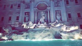 Fontana Di Trevi Obraz Stock