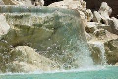 Fontana di Trevi. Close up trevi fountain in city center of Rome,Italy Royalty Free Stock Photo