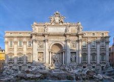 Fontana 01 di Trevi di Roma Immagini Stock Libere da Diritti