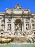 Fontana di Trevi em Roma imagens de stock