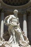 Fontana di Trevi. Trevi fountain in city center of Rome,Italy Stock Photography