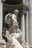 Fontana di Trevi. Trevi fountain in city center of Rome,Italy Stock Image