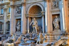 Trevi Fountain, Rome. Italy Stock Photos