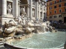 Fontana di Trevi i Rome Arkivbild