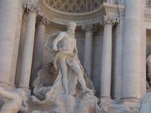 Fontana Di trevi Italië Stock Foto