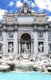 Fontana di Trevi o Fontana di Trevi a Roma, Italia Immagine Stock