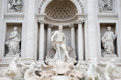 Fontana di Trevi ou fontaine de TREVI Photos libres de droits