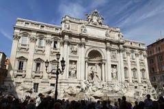 Fontana di Trevi Rom Lizenzfreies Stockfoto