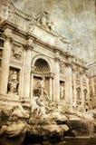 Fontana di Trevi, Rom Stockfotos