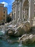 Fontana di Trevi stockfoto