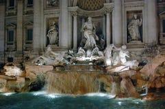 Fontana di Trevi, Roma Immagini Stock Libere da Diritti
