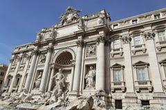 Fontana di Trevi Roma Fotografia Stock Libera da Diritti