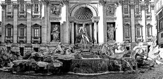 Fontana di trevi roma Stock Images