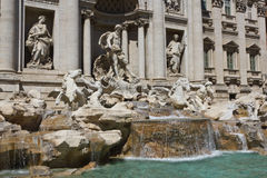 Fontana di Trevi a Roma, Italia Immagine Stock Libera da Diritti