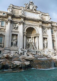 Fontana di Trevi in Roma, Italy Royalty Free Stock Images