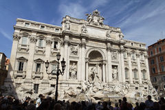 Fontana di Trevi Rome Royalty Free Stock Photo