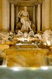 Fontana di Trevi, Rome. The Trevi Fountain is a fountain in the Trevi district in Rome, Italy. Standing 26 metres (85.3 feet) high and 20 metres (65.6 feet) wide Stock Image
