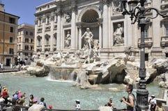 Fontana di Trevi - Rome Image stock