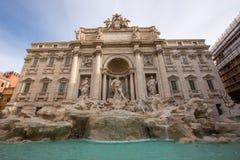 Fontana Di trevi Rome Royalty-vrije Stock Afbeeldingen
