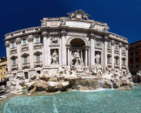 Fontana Di Trevi, Rome Royalty-vrije Stock Foto