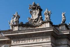 Fontana di Trevi, Rome, Italien. Royaltyfri Foto