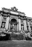 Fontana di Trevi  in Rome, Italy Stock Photo